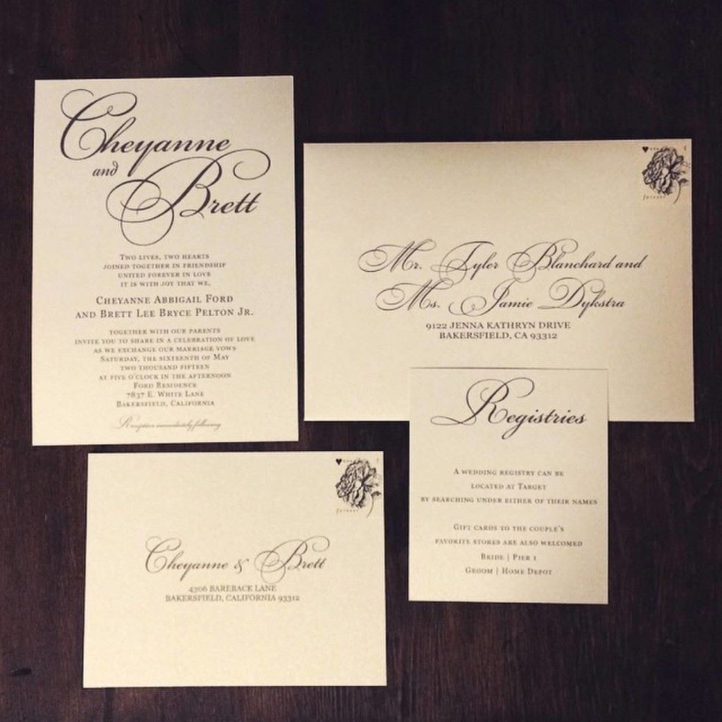 invitations wedding wednesday you re one week from your big day