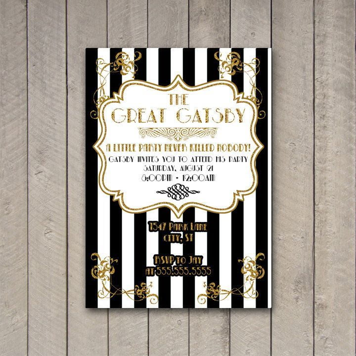 Great Gatsby, Black & White and Brewery Events – Fairy Godmother ...