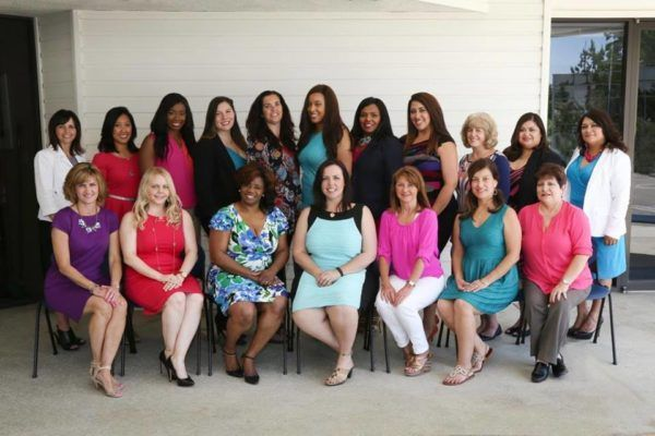 Colleen and the board of the women's business conference
