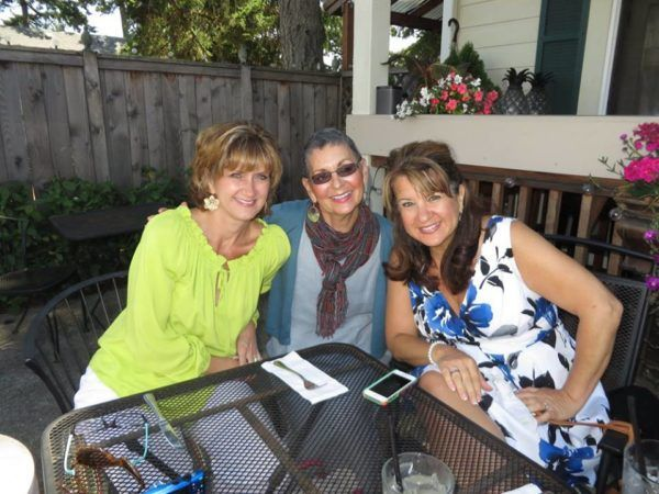 Fairy Godmother Colleen with her two sisters