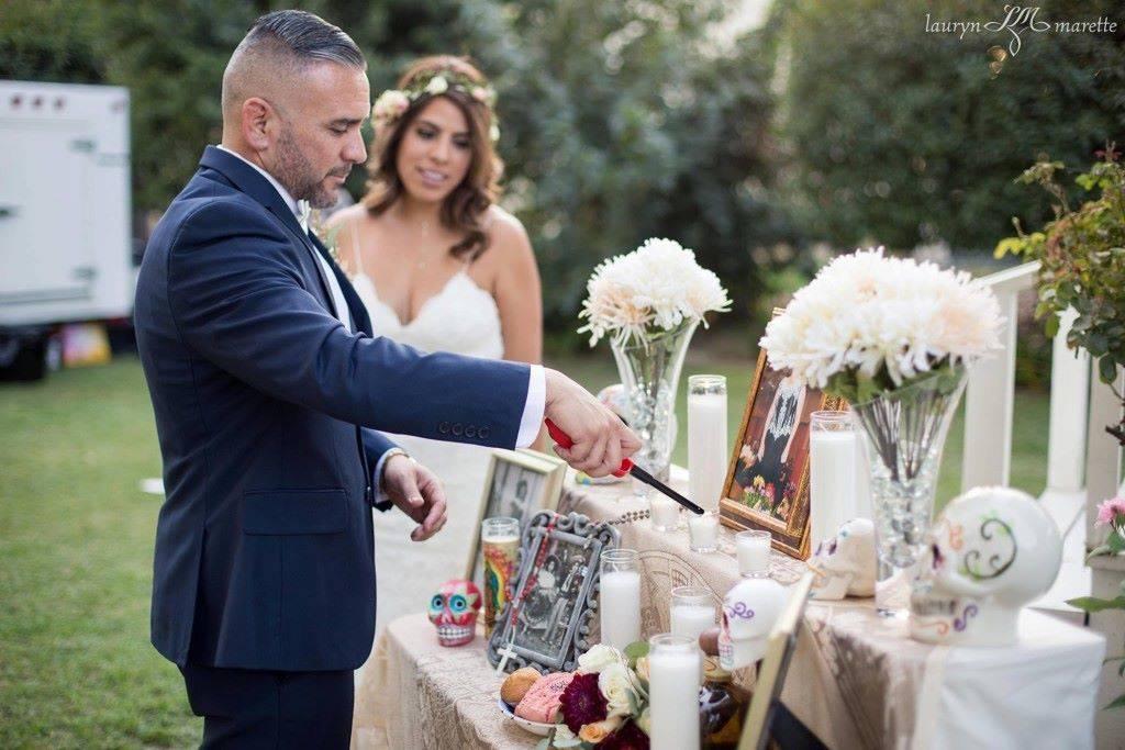 Carlos & Daniella Dia de los Muertos
