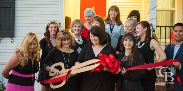 The Ribbon Cutting Ceremony for the 20th Street Cottage!