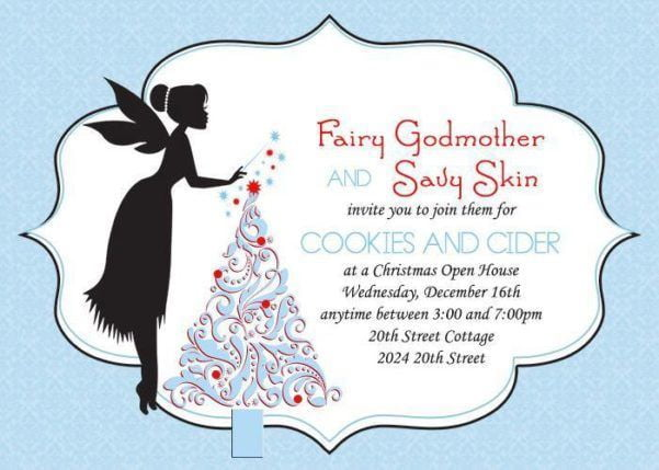 Fairy Godmother Cookies & Cider