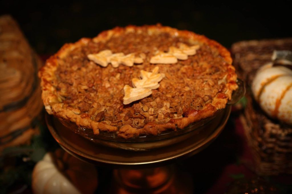 Fairy Godmother Fall Harvest Pie Bar