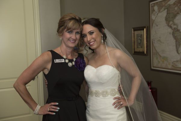 Fairy Godmother with Bride Monica