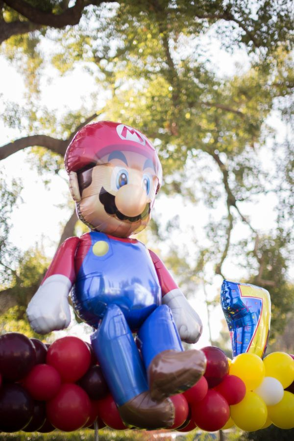 Favorite Things Super Mario by Paradise Balloon Designs