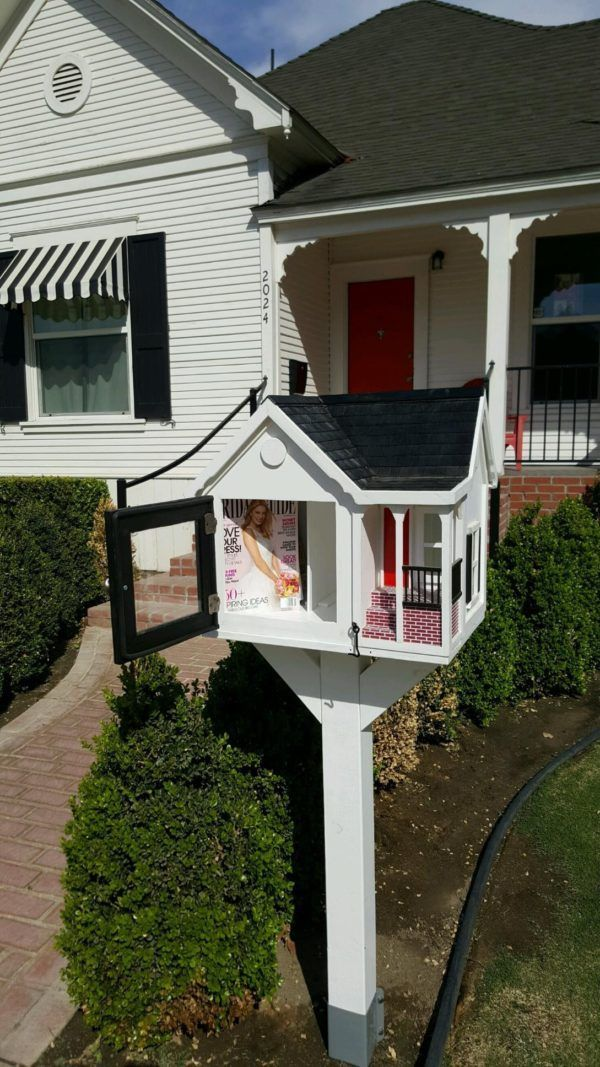 20th Street Cottage Wendy's Words Free Little Library