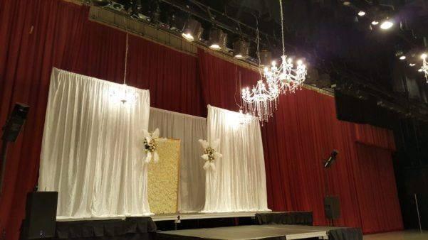 Kevin Rush Entertainment Bridal Expo Fashion Show Stage