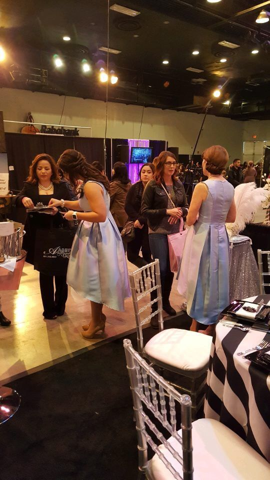 Fairy Godmother at the Kevin Rush Entertainment Bridal Expo