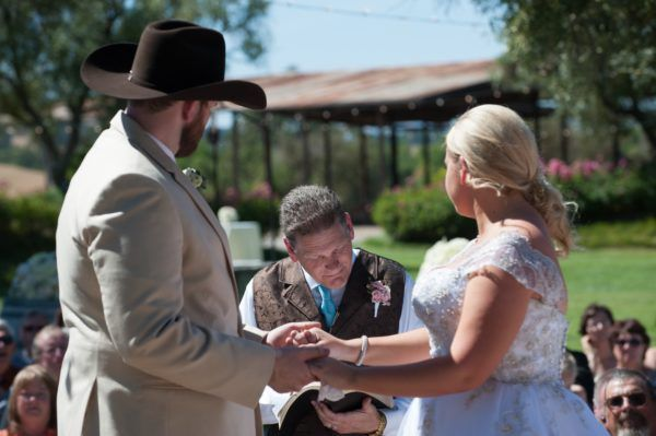 Officiant French Wedding Fairy Godmother Shelli Renee Weddings