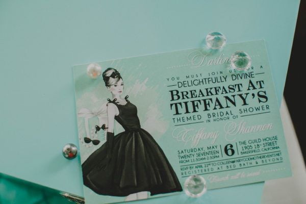 Fairy Godmother Breakfast at Tiffany's Bridal Shower