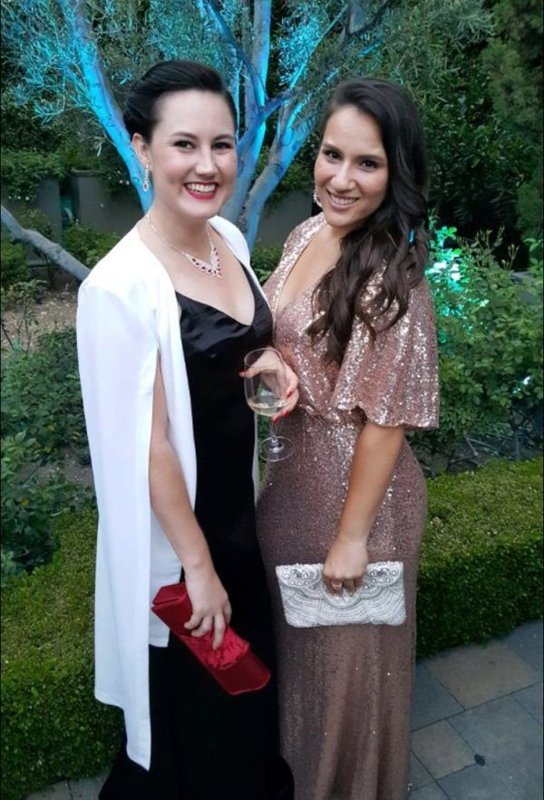 California Wedding Day Awards Fairy Godmother at the Vibiana