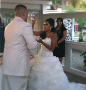 It's Magical Monday, Congrats Anthony and Eva! We loved being your Fairy Godmother.