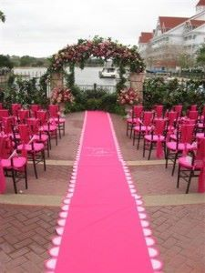 Wedding Aisle Runner Custom Fairy Godmother