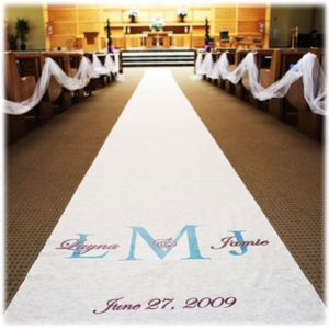 Wedding Aisle Runner Custom?