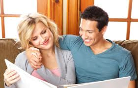 FG couple with book
