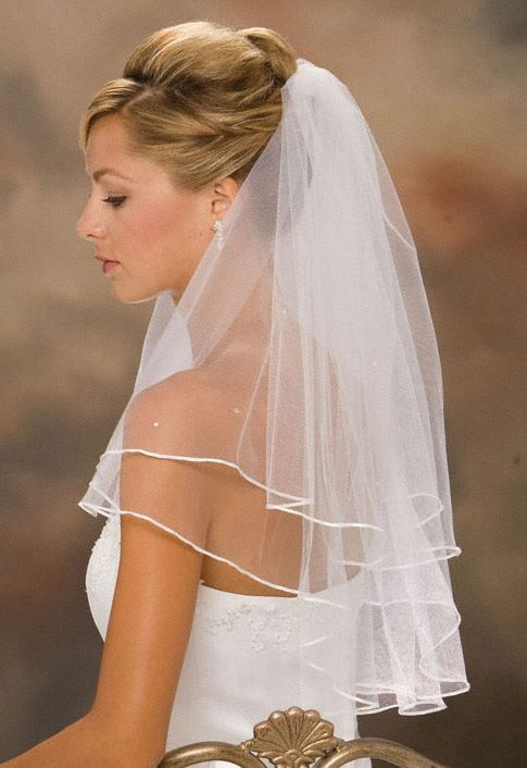 Keep In Mind That Veils Come All Shapes Sizes And Shades The Rule Of Thumb Is Your Veil Must Match With Style Wedding Dress