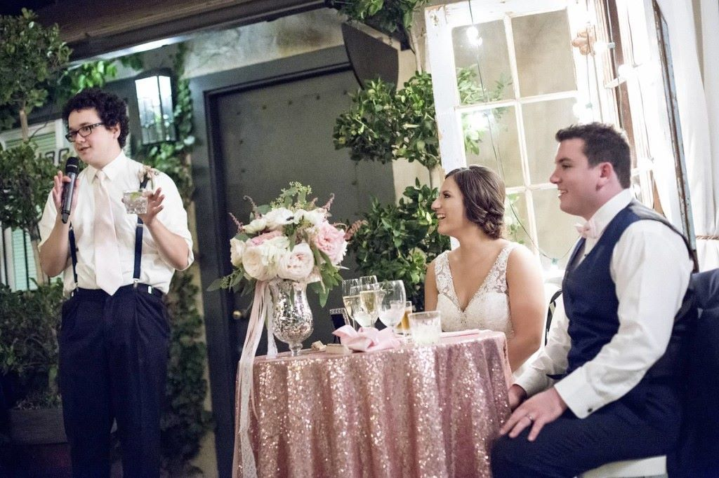 Wedding Wednesday – You're Engaged, Two Weeks From Your Big Day, Now What? Toast and Speeches!