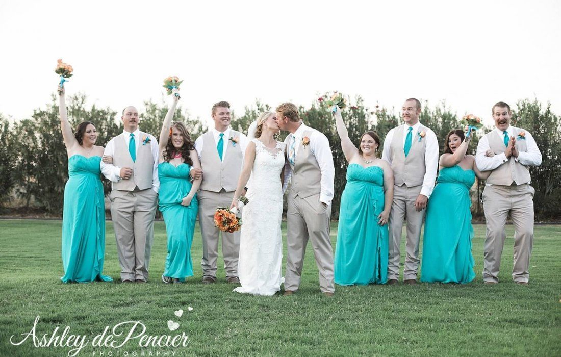 Magical Monday- Private Residence Wedding in Bakersfield California