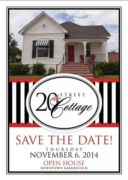 20th Street Cottage Grand Opening Invitation