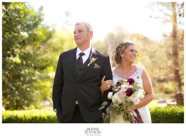 Agee Wedding Fairy Godmother couple by Boone & Stacie
