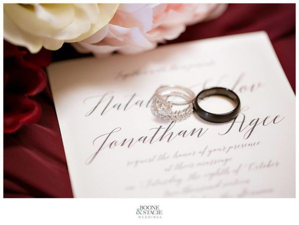 Beautiful detail photo by Boone & Stacie Weddings, paper products by Matinae Design Studio