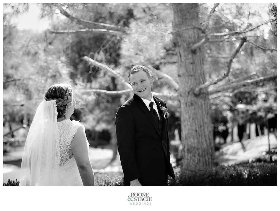 Magical moment captured by Boone & Stacie Weddings.