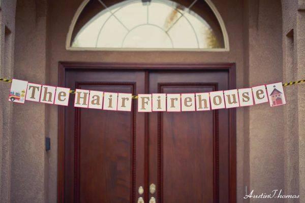 Hair Firehouse Birthday Party