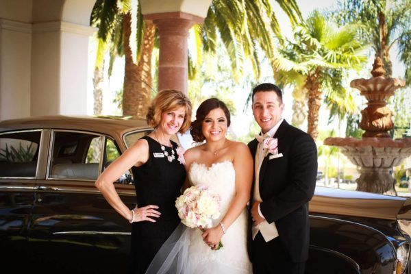 Fairy Godmother Colleen with Alex & Susie Vlahos