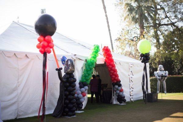 Star Wars Balloon Designs by Paradise Balloon Designs