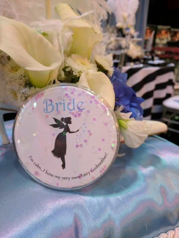 Fairy Godmother Bride Pin