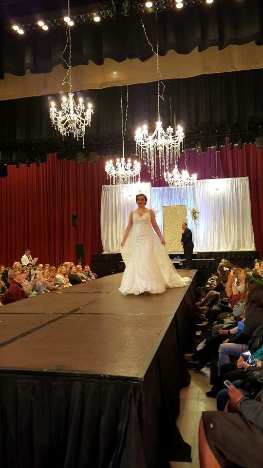 Gorgeous dresses from Enchanted Bridal Boutique.