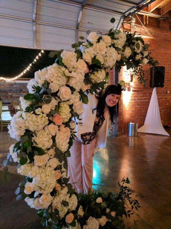 Big Fake Wedding Entrance