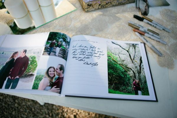 Fairy Godmother guestbook left coast by design photograph