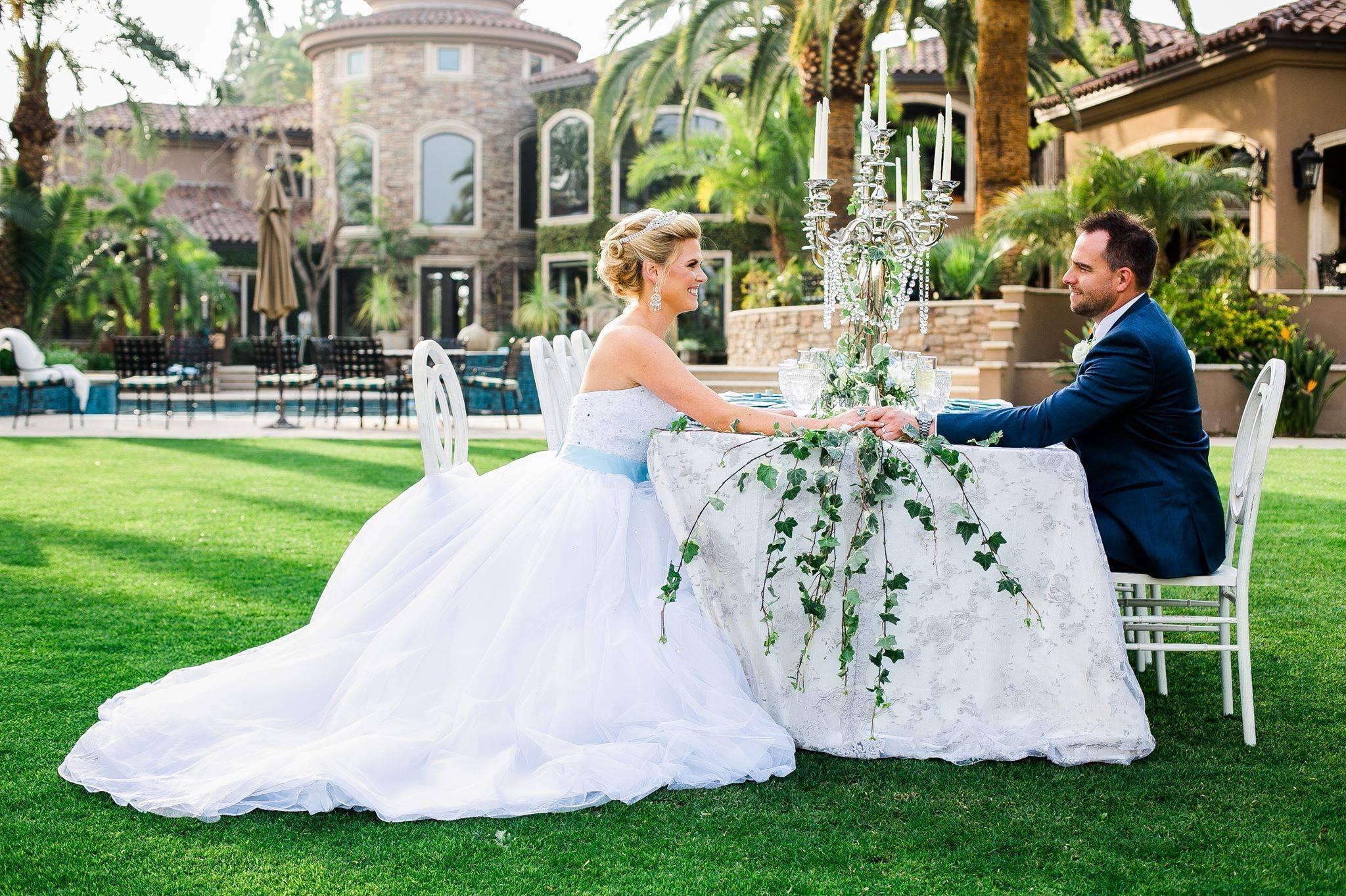 Fairy Godmother Styled Wedding