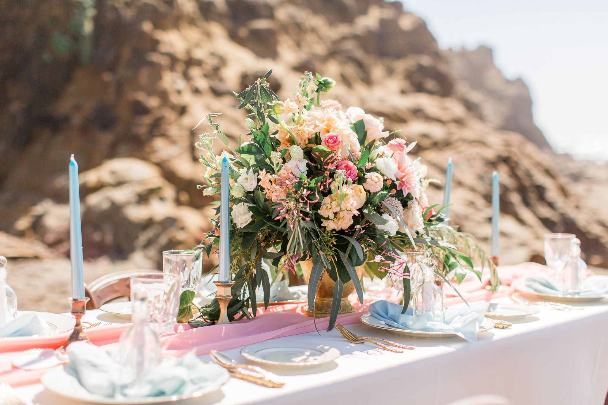 Fairy Godmother Styled Beach | WeddingSasha Saldana Photography