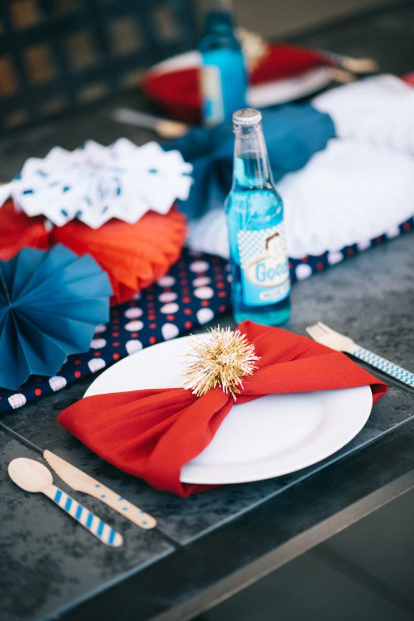 Fairy Godmother Brady Rushing Patriotic Styled Shoot
