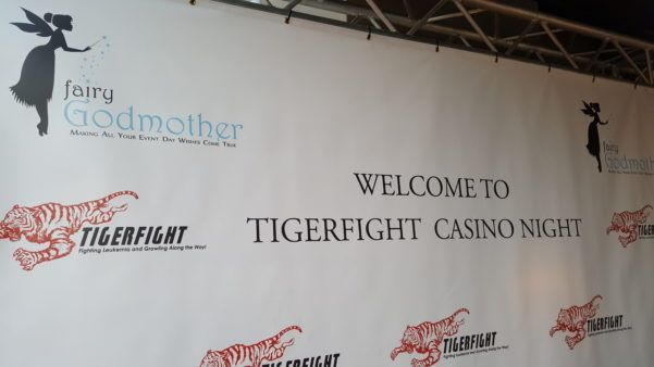 Tiger Fight Logo Fairy Godmother Sponsor