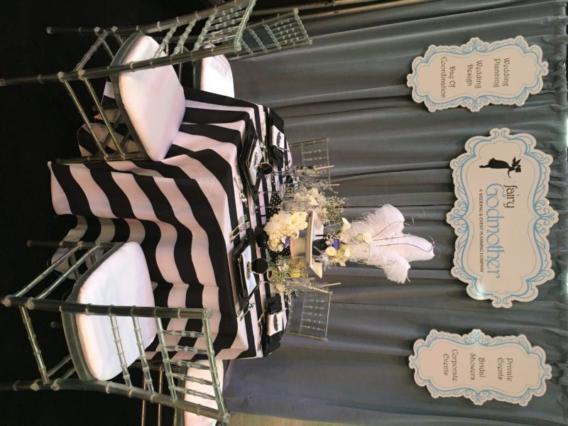 Fairy Godmother Kevin Rush Entertainment Bridal Expo Booth Design