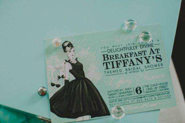 Fairy Godmother Breakfast at Tiffany's Bridal Shower