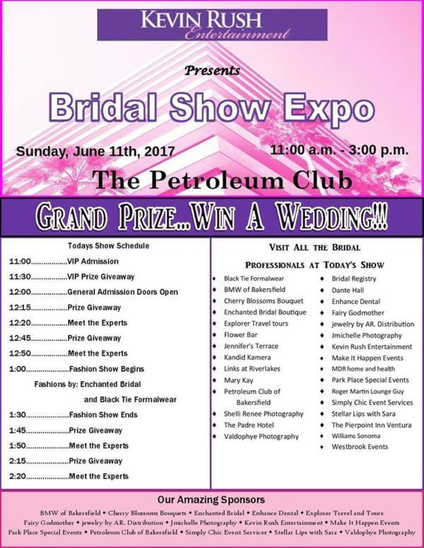 Kevin Rush Entertainment Bridal Expo Fairy Godmother