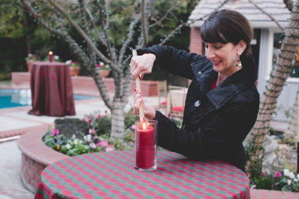 Fairy Godmother Janet Setting Decor Pandol Christmas Open House