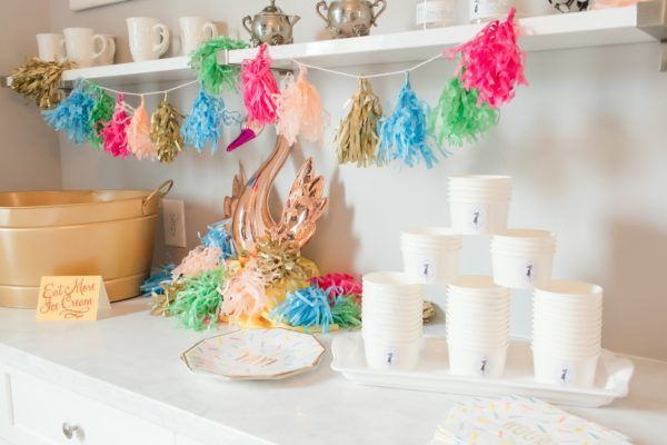 Fairy Godmother Unicorn Ice Creme Social