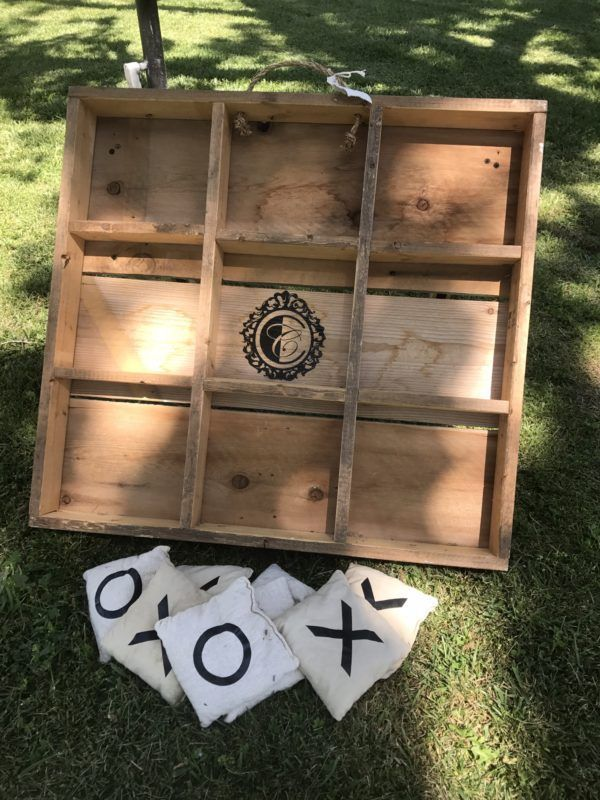 Tic Tac Toe rental by Custom Creations.