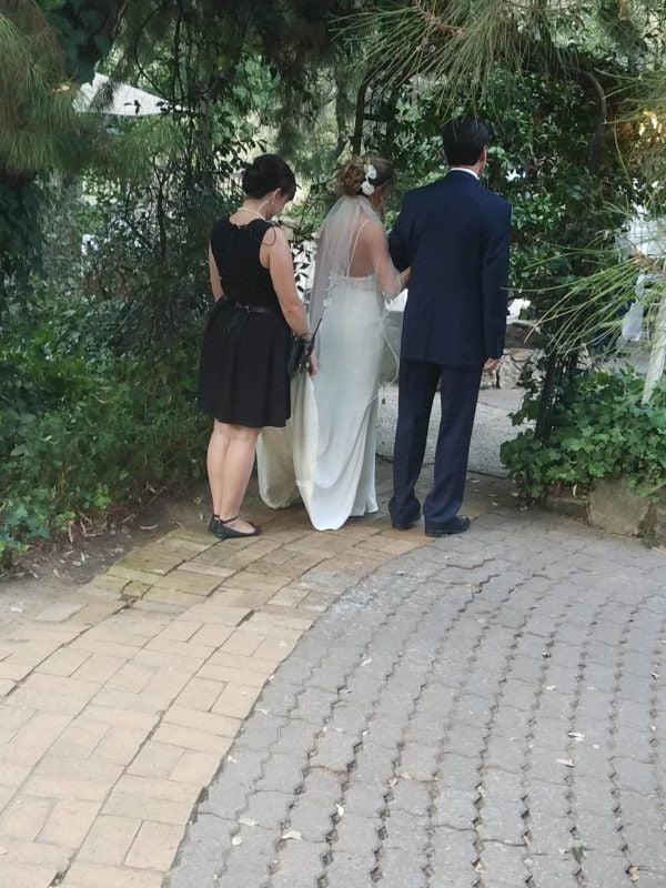 White Horse Inn Fairy Godmother Longoria Wedding