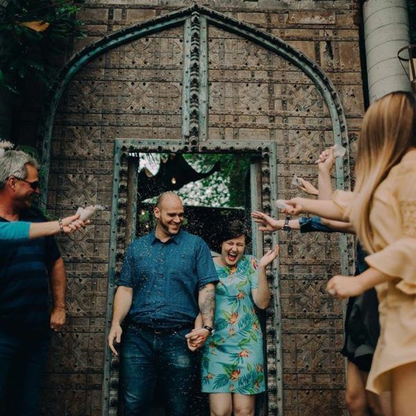 Gear Engagement Allison Claire Photography