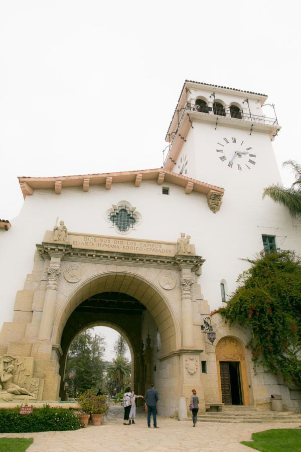 Fairy Godmother Historic Santa Barbara Courthouse Wedding