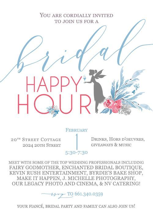 Fairy Godmother Bridal Happy Hour