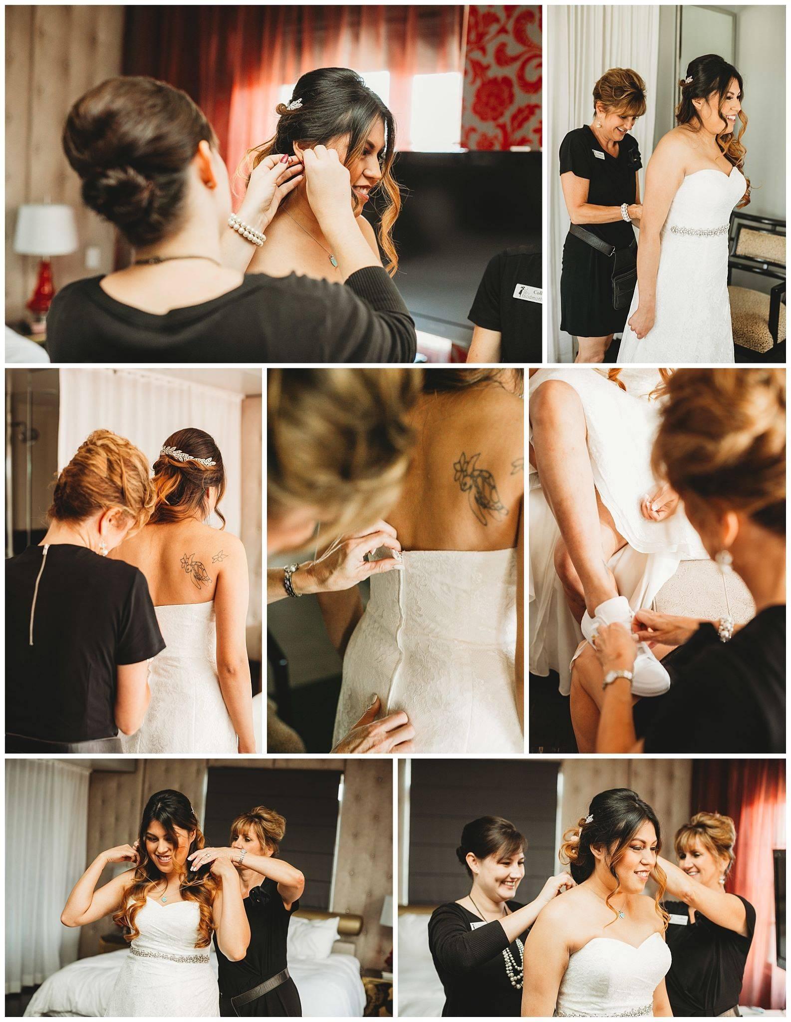 Fairy Godmother Rodriguez Metro Wedding