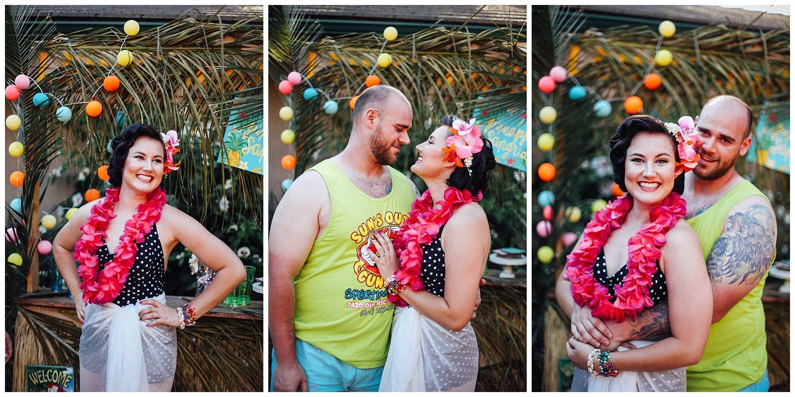Aloha Engagement Gear Luau